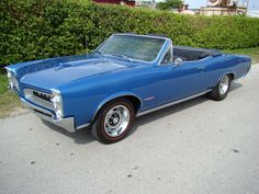 1966 Pontiac GTO Convertible 389 Tripower For Sale