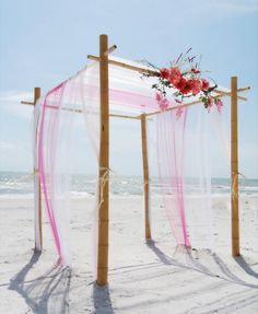 Wedding arbours in different colours