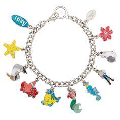 Ariel Charm Bracelet   Jewelry   Disney Store