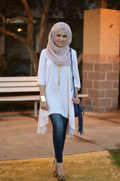 New fashion hijab casual jeans chic Ideas Modest Fashion Hijab, Modern Hijab Fashion, Muslim Women Fashion, Street Hijab Fashion, Hijab Casual, Hijab Fashion Inspiration, Islamic Fashion, Hijab Chic, Hijab Outfit