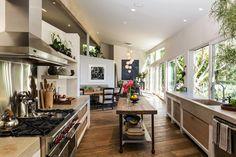 Patrick Dempsey's huis keuken