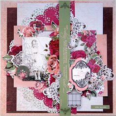 Kaisercraft - Lady Rose Collection - Trudi Harrison