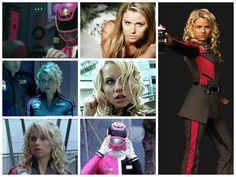 Sydney Drew-(S.P.D Pink Ranger)