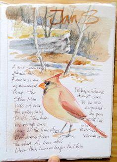 Sketching in Nature: Winter Sketching
