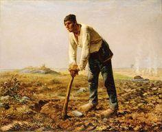 Le réalisme - Jean-François Millet - L'homme à la houe (1862).