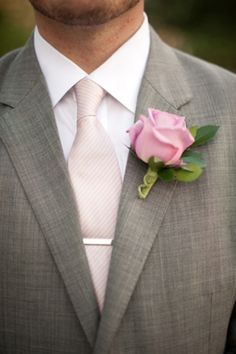 Groom & Groomsmen colors  light pink & grey