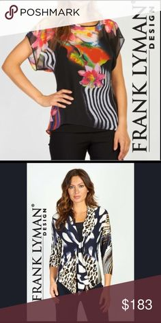 ✳️Reserved Listing Bundle Listing for 2 Frank Lyman Tops size 8! frank lyman Tops