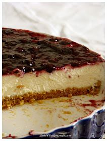 Stella's Κουζινομπερδέματα: Cheesecake-Τσίζκεικ, Το Κλασικό Cheesecake Cake, Cheesecake Recipes, Dessert Recipes, Greek Desserts, Greek Recipes, Party Buffet, Food To Make, Sweet Tooth, Cooking Recipes