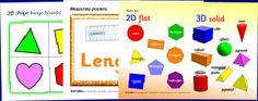 Math printables for preschool, kindergarten, elementary - activities, games, flash cards, posters - SparkleBox