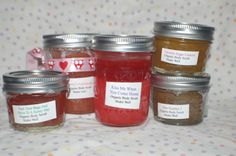 A Great Escape Body Scrubs by agreatescape on Etsy, $6.00-12.00