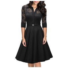 2016 Summer Dress UK Elegant Dark Blue Sexy Lace Casual Evening Party Women Clothing Fashion Ladies Hollow Out Vestidos *** Learn more by visiting the image link.