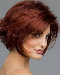 Fine Short Hairstyles For Round Faces                                                                                                                                                                                 More