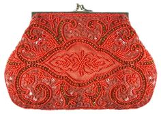 ru / Photo # 41 - Chic and shine. - Bird-of-heart Beaded Clutch, Beaded Purses, Beaded Bags, Vintage Purses, Vintage Bags, Vintage Handbags, Embroidered Bag, Beautiful Handbags, Evening Bags