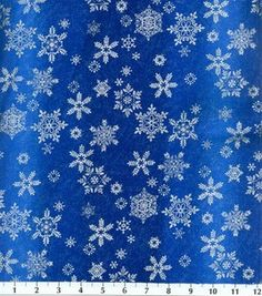 Holiday Inspirations Fabric-Ombre Snowflake Blue: holiday fabric: fabric: Shop   Joann.com