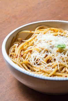 Sun-Dried Tomato Pesto (in Pasta) - The Wimpy Vegetarian. #SecretRecipeClub