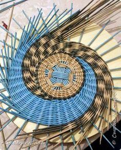 Panel Weave Master Class 40 cm Papel Prensa tejer espiral Tubos de papel Foto 17