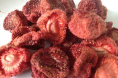 Healthy strawberry candy