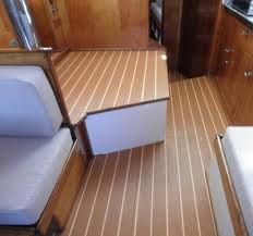 Boat Flooring On All Horizontal Floor Surfaces Drooling