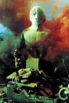 """Spell-seijin, from the banned twelfth episode of ULTRA SEVEN, """"From Another Planet With Love"""". Terror Movies, Japanese Superheroes, Japanese Robot, Mecha Anime, Fantasy Movies, Picture Collection, Vintage Photographs, Godzilla, Sci Fi"""