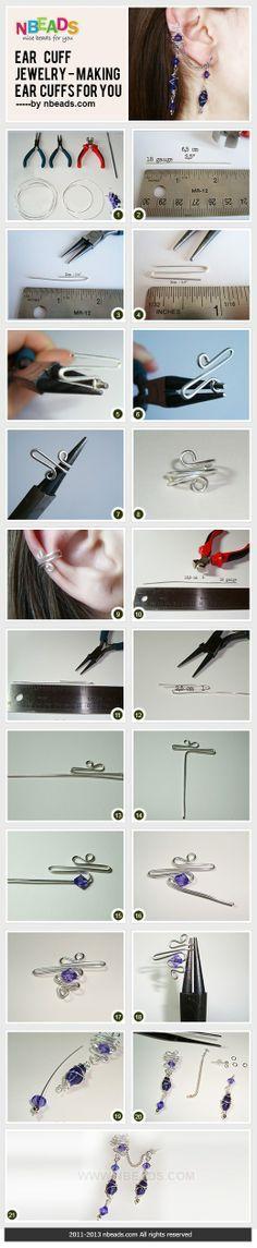 Ear Cuff Jewelry - Making Ear Cuffs for You – Nbeads