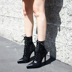 jeffreycampbell The Menzel boot- The kind of shoe you put on and just know you're gonna kick some ass in.