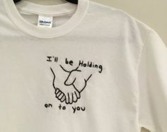 I Will Make You Belive You Are Lovely Embroidered T-Shirt