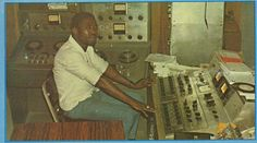"Larry Marshall in the Studio One control room (from ""Presenting Larry Marshall"" LP)"