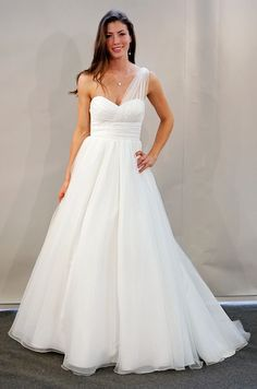 """watters bridal....this is my dress & I love it! Just bought it yesterday but am having the """"sleeve"""" removed"""