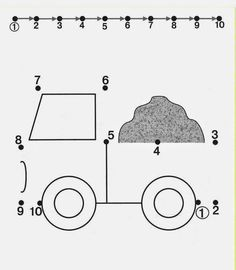 Kids Under 7: Free dot to dot worksheets for kids. Part 2