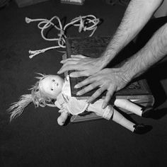 """Rosalind Fox Solomon, 1974: """"Dolls have become a reoccurring theme in my work throughout the years, because of the idea of a woman being made to feel like a doll, or a broken doll – it's a very superficial being."""""""