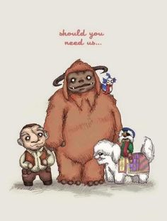 awww-should you need us-Labyrinth!