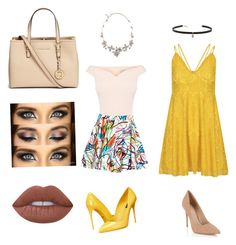 """Untitled #209"" by jxrew on Polyvore featuring Lipsy, Carbon & Hyde, Dolce&Gabbana, Jeremy Scott, Oscar de la Renta, Michael Kors and Lime Crime"