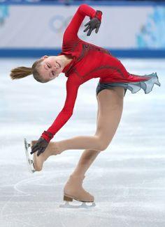 Yulia Lipnitskaya Photograph: Matthew Stockman/Getty Images