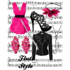 """""""Flute Style"""" by wolfe30 on Polyvore"""