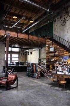 The Wheelhouse: веломагазин и кафе в одном месте