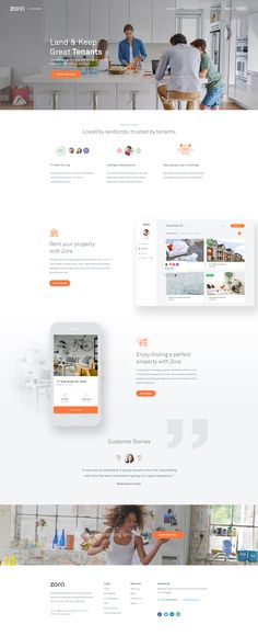 Zora Homepage Design