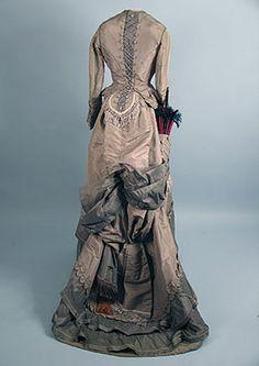 Walking dress 1870s