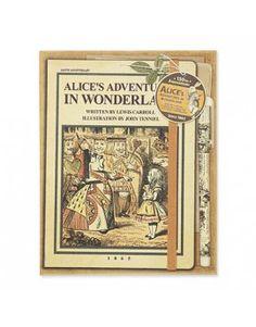 Set cuaderno Alicia en el País de las Maravillas (Edición Limitada)