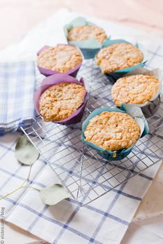 These light and breezy cornmeal muffins are great for breakfast, snack or whenever!