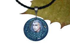 Necklace  Mirkwood King Thranduil elven jewellery by JankaLart