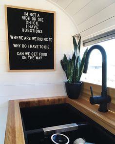 Leuk zo'n letterbord (keuken/toilet)