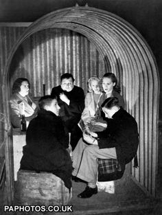 World War Two - British Empire - The Home Front - The Blitz - Shelters - London - 1940