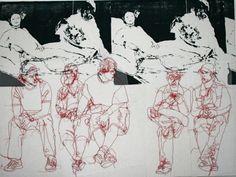 Rosie James Rosie James, Vader Star Wars, Textiles, A Level Art, Silhouette, Gcse Art, Diy Embroidery, E Design, Fiber Art