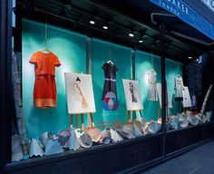 """TED BAKER, London, UK, """"Colour by Numbers"""", creative by Harlequin Design, pinned by Ton van der Veer"""