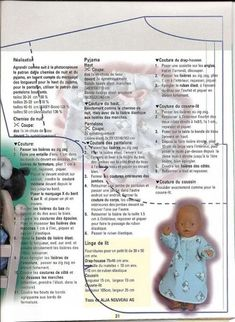 Sewing dolls clothes baby born 52 ideas for 2019 Sewing Doll Clothes, Sewing Dolls, Doll Clothes Patterns, Sewing Aprons, Barbie Clothes, Diy Clothes, Bitty Baby, Baby Born Clothes, Baby Boy Blankets