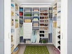 Fast and easy way to organize master closet or smaller closet, just go to Menards and pick your closet organizer.