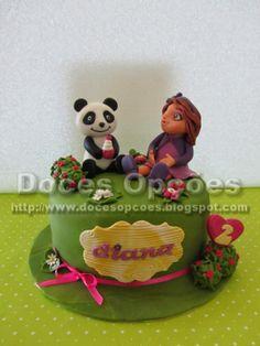 Doces Opções: O Panda na festa do 2º aniversário da Diana