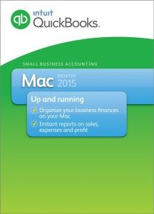 Business Management Software - QuickBooks 2015 for Mac