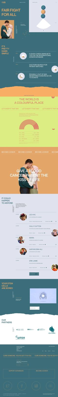 Swab The | Land-book - the finest hand-picked website inspirations Inspire Others, Cool Websites, Homeland, How To Introduce Yourself, Equality, Blood, Cancer, Motivation, World