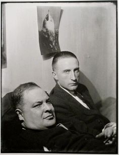 Joseph Stella and Marcel Duchamp - PORTRAITS BY MAN RAY, 1921-1937